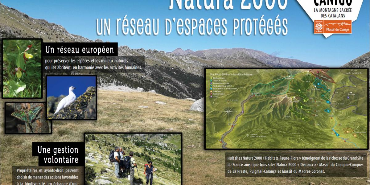 Panneau d'expo Natura 2000 / SMCGS