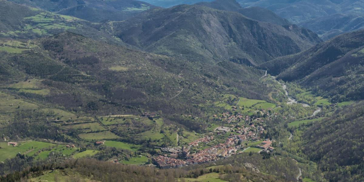 La vallée du Tech, village de Prats-de-Molló-La-Preste / Michel CASTILLO-CD66