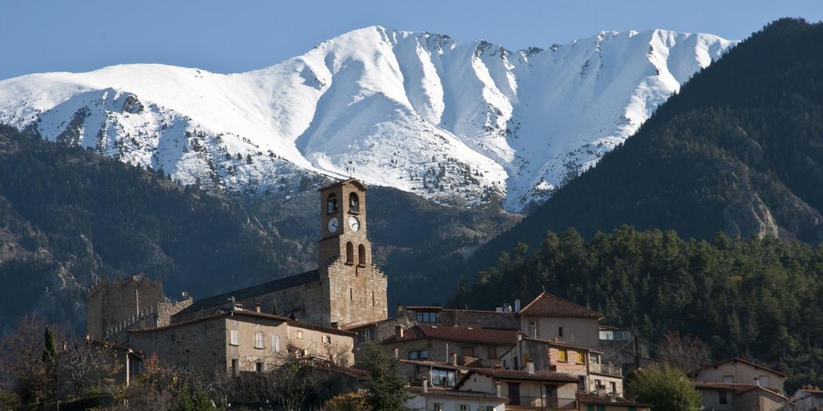 Vue du massif depuis Vernet-les-bains / Michel CASTILLO-CD66