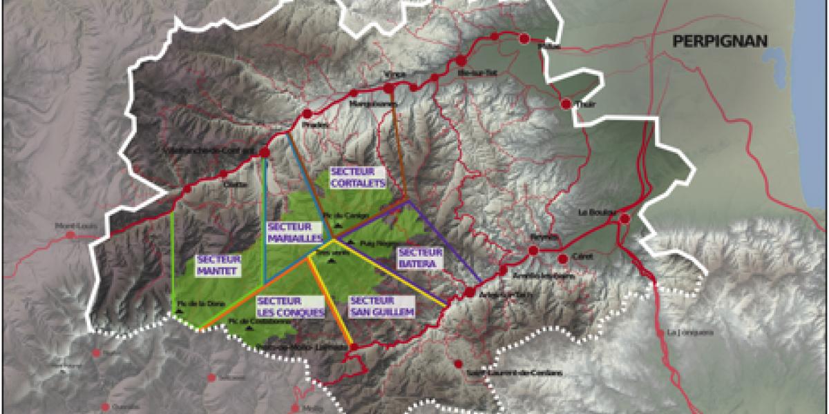 Carte des secteurs d'accueil / SMCGS