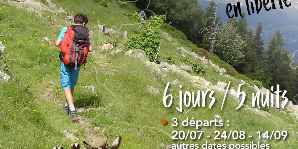 Affiche du Tour du Canigó en liberté / SMCGS