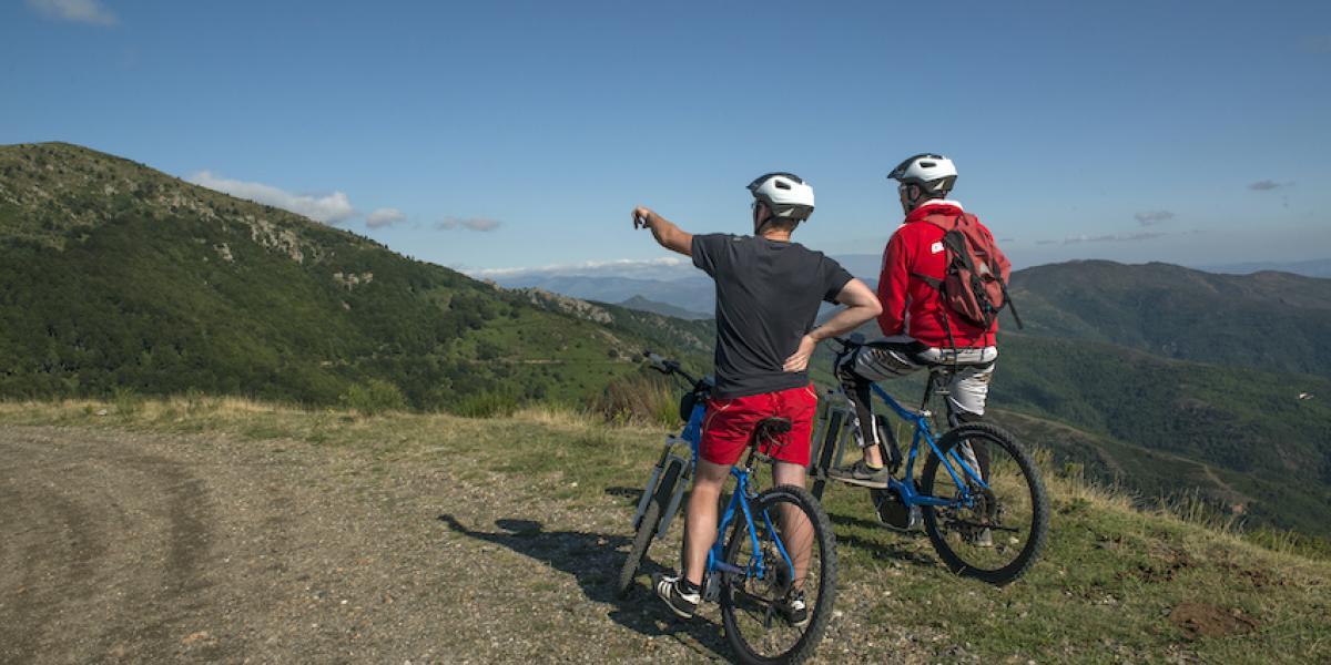 Découverte du massif en vélo / M. CASTILLO