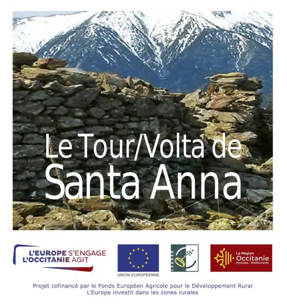 Dépliant du Tour de Santa-Anna / SMCGS