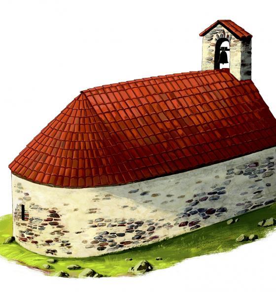 Reconstitution de la chapelle d'après étude documentaire / Laurie MONTARGES