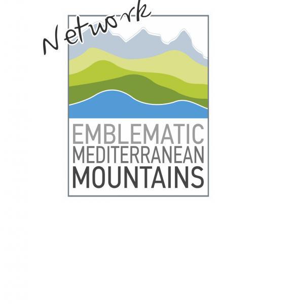 Logo des montagnes emblématiques méditerranéennes / MED