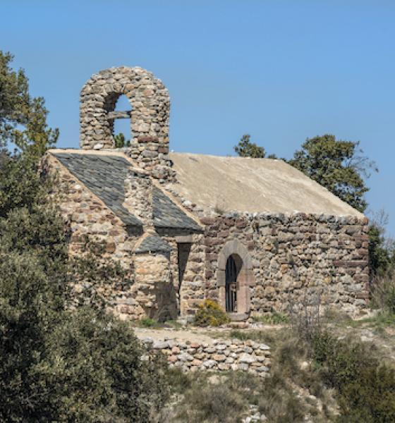 Chapelle St Esteve de Campilles / M. CASTILLO-CD66